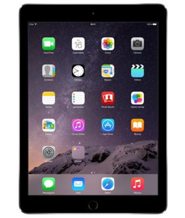 iPad Air 2 Wi-Fi + 4G 128GB Cinza Espacial