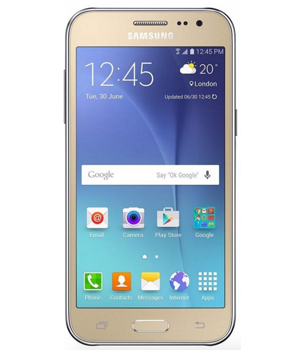 Samsung Galaxy J2 4G Duos TV 8GB Dourado Seminovo Muito Bom
