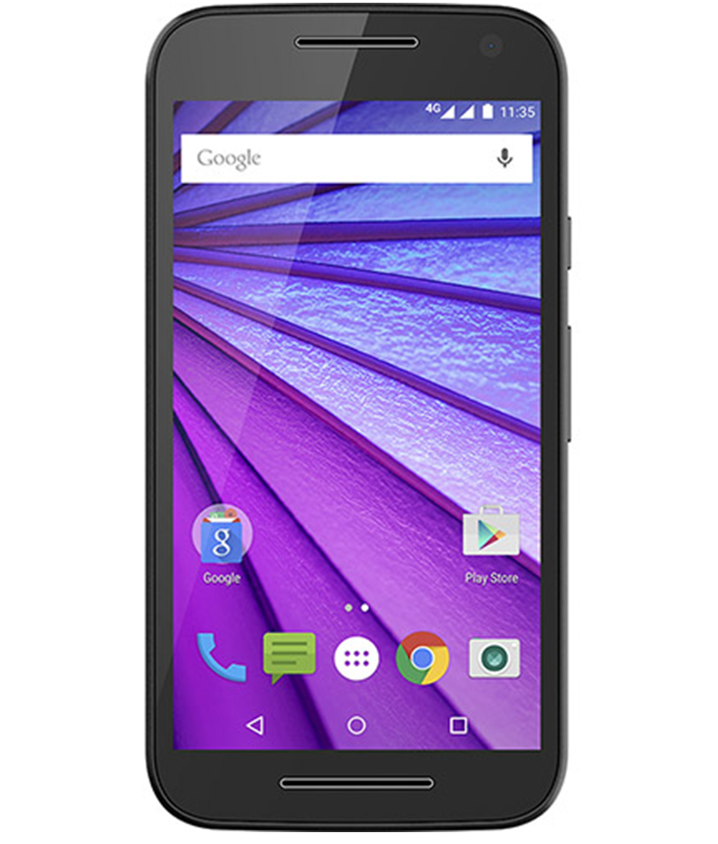 Motorola Moto G3 16GB 4G Dual Preto Cabernet Seminovo Bom