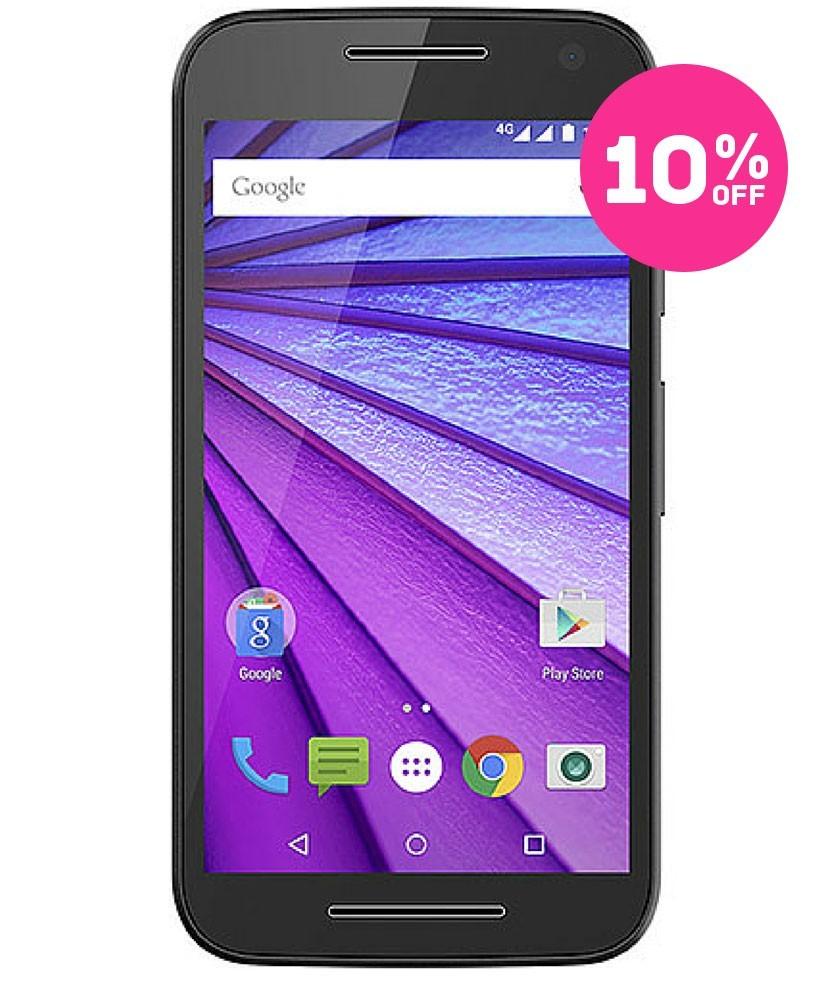 Motorola Moto G (3a Geração) 8GB 4G Dual Preto