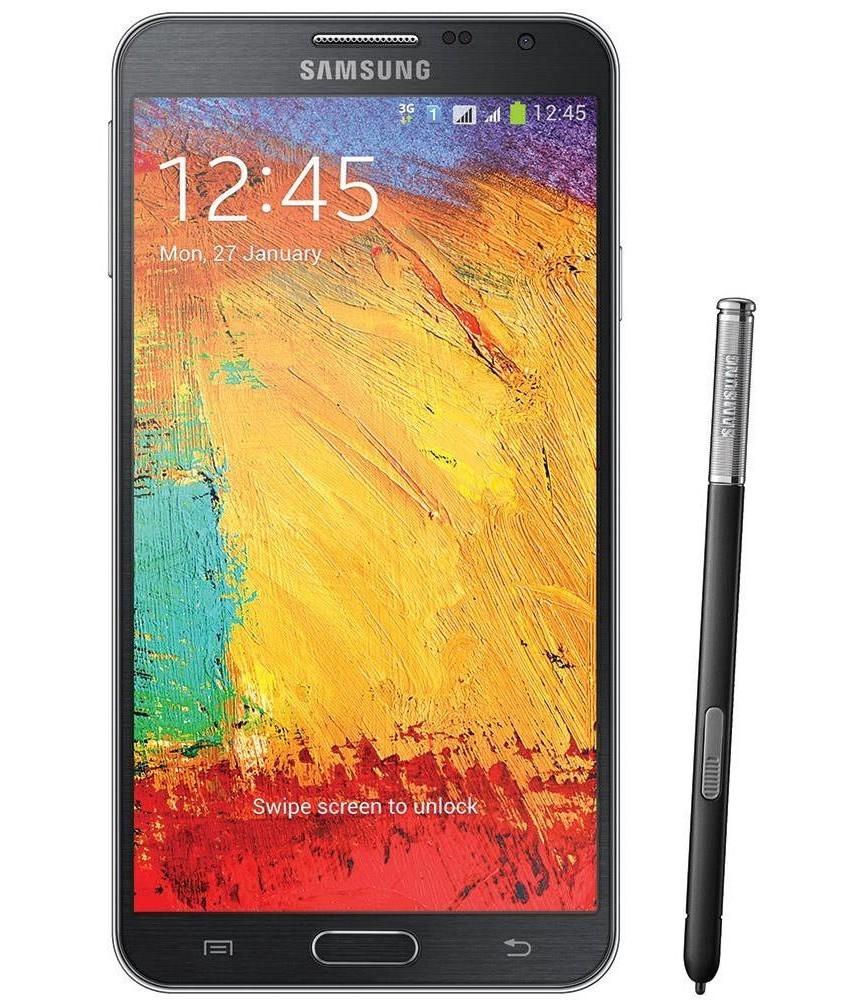 Samsung Galaxy Note 3 Neo Duos Preto