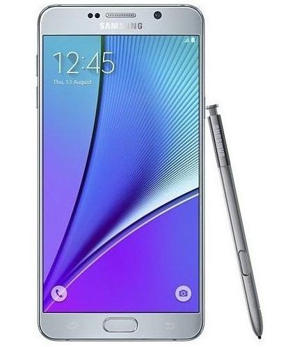 Samsung Galaxy Note 5 Prata Seminovo Excelente