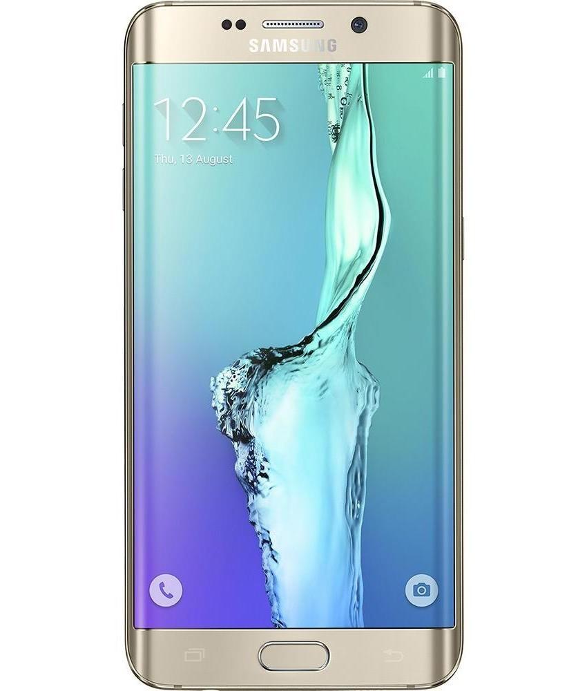 Samsung Galaxy S6 Edge Plus 32GB Dourado Seminovo Bom