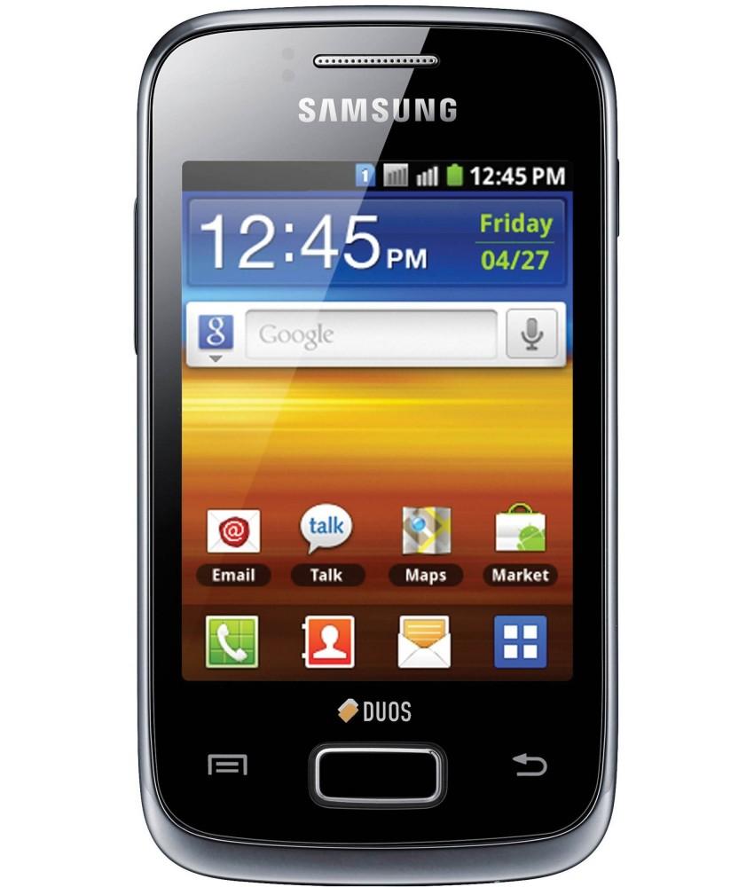Samsung Galaxy Y Duos Preto