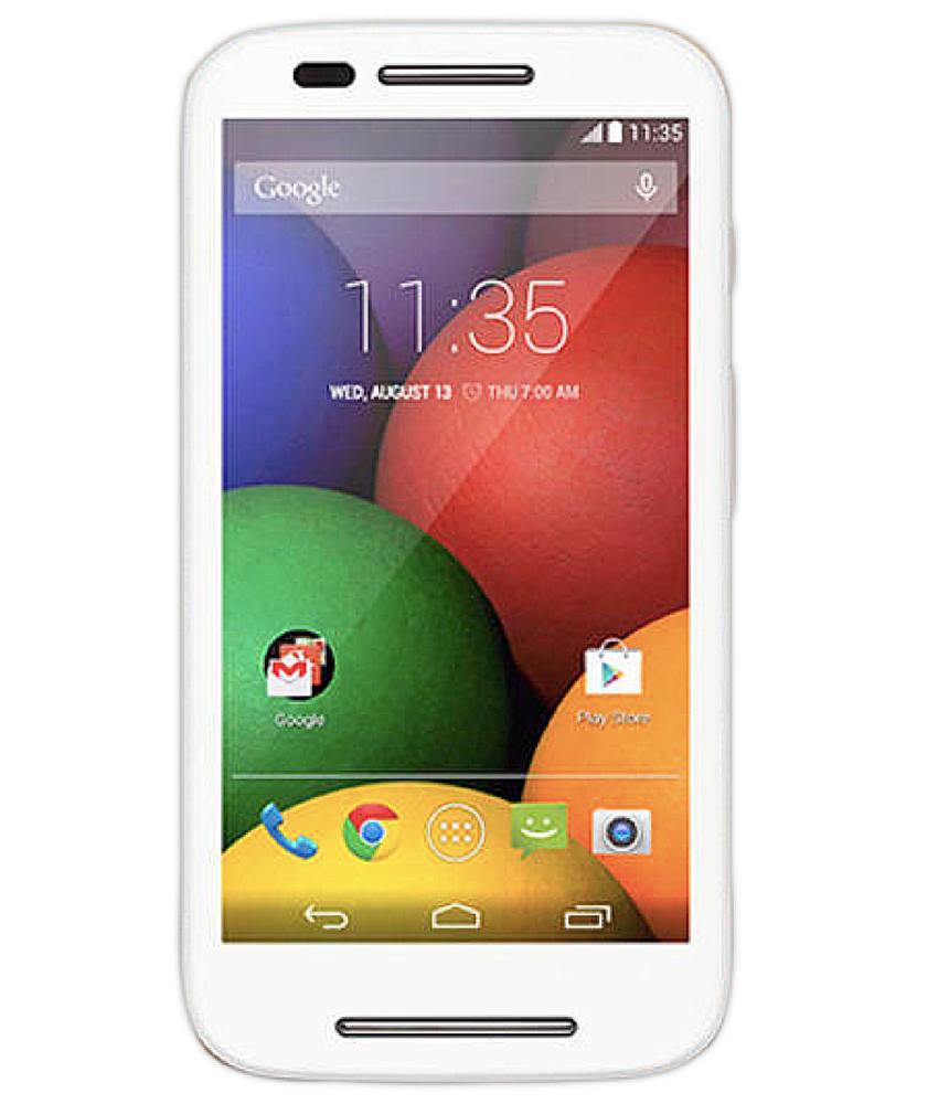 Motorola Moto E1 4GB Dual Branco - 4GB - Desbloqueado - Recertificado