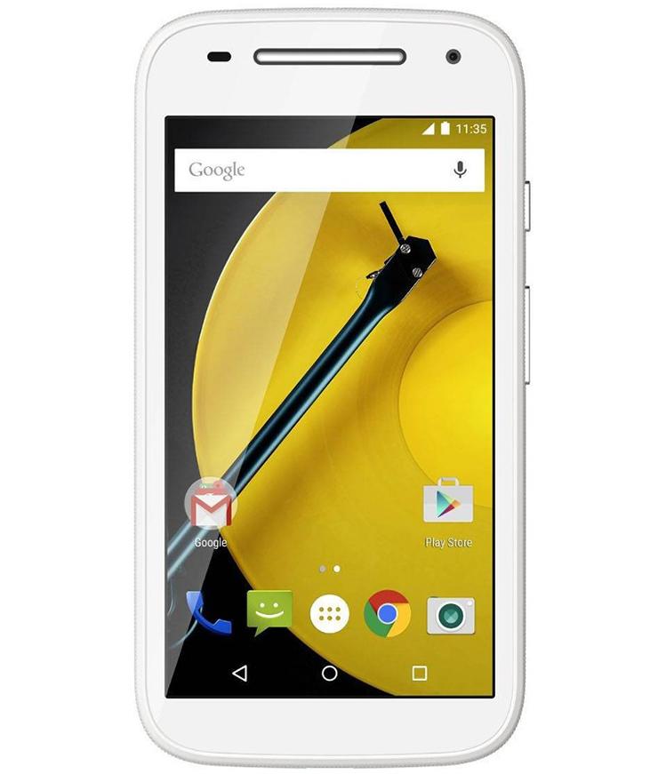 Motorola Moto E2 16GB 4G Dual Branco - 16GB - Desbloqueado - Recertificado