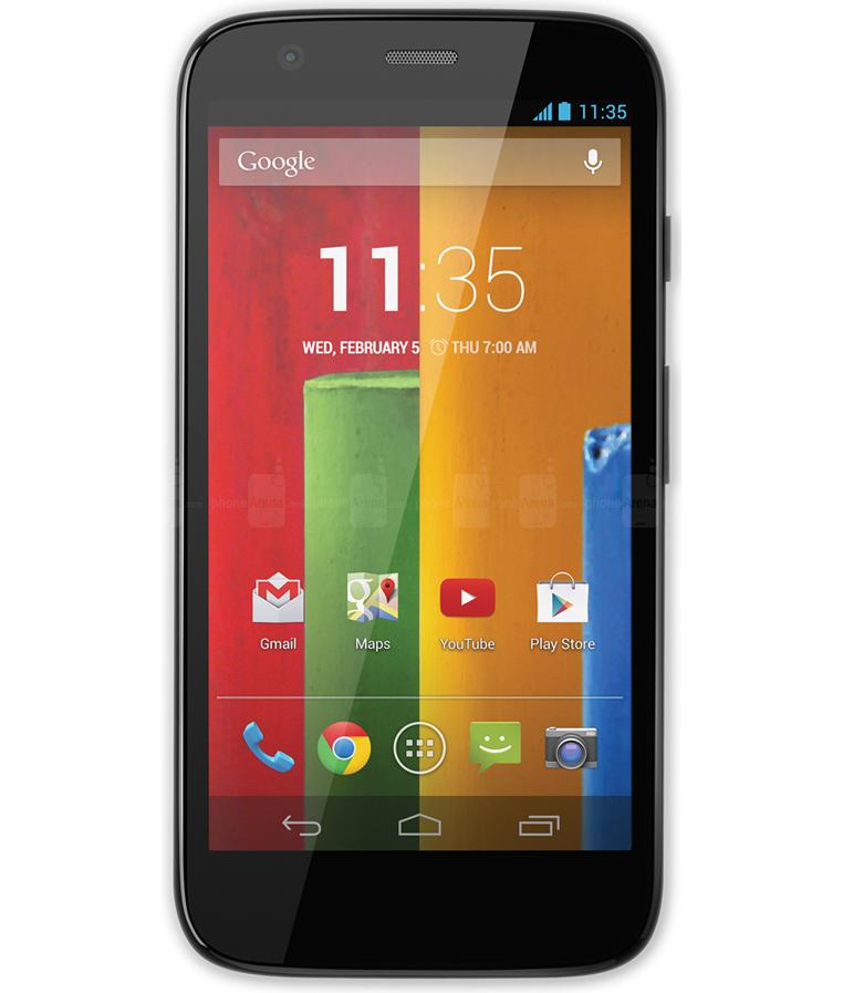 Motorola Moto G1 3G Dual 16GB - 16GB - Android 4.4.4 KitKat - 1.2 GHz Quad Core - Tela 4.5 ´ - Câmera 5MP - Desbloqueado - Recertificado