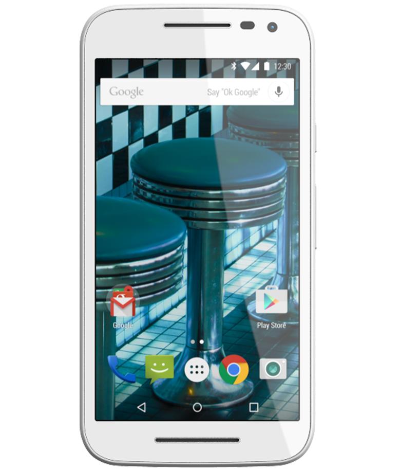 Motorola Moto G3 16GB 4G Dual Branco Cabernet - 16GB - Android 5.1.1 Lollipop - 1.4 GHz Quad Core - Tela 5 ´ - Câmera 13MP - Desbloqueado - Recertificado