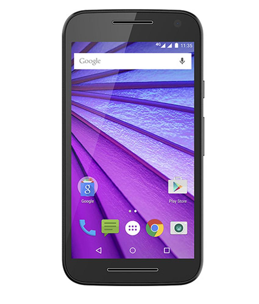 Motorola Moto G3 16GB 4G Dual Preto Azul - 16GB - Android 5.1.1 Lollipop - 1.4 GHz Quad Core - Tela 5 ´ - Câmera 13MP - Desbloqueado - Recertificado