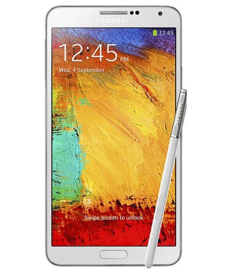 Samsung Galaxy Note 3 32GB Branco - 32GB - Android OS, v4.3 ( Jelly Bean ) - Quad - core 2.3 GHz Cortex - A7 - Tela 5.7 ´ - Câmera 13MP - Desbloqueado - Recertificado