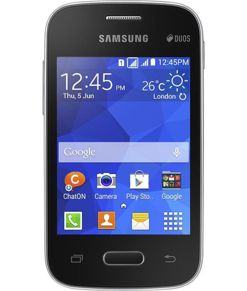 Samsung Galaxy Pocket 2 Duos Preto - 4GB - ARM Cortex - A7 - Tela 3.3 ´ - Câmera 2 MP - Desbloqueado - Recertificado