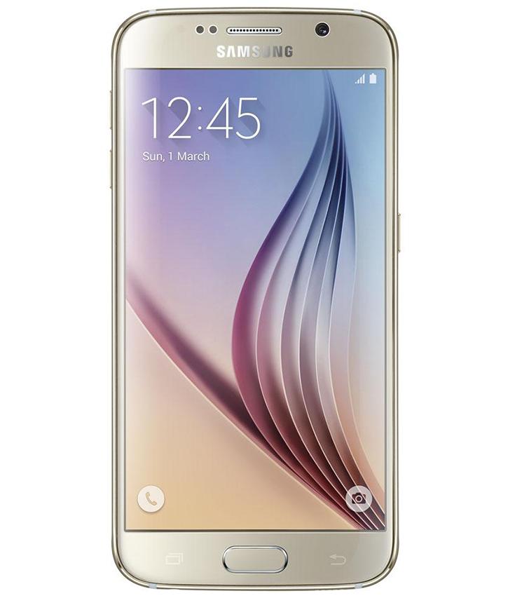 Samsung Galaxy S6 Flat Dourado - 32GB - Android 5.0 TouchWiz UI Lollipop - Quad - core 1.5 GHz Cortex - A53 + Quad - core 2.1 GHz Cortex - A57 - Tela 5.1 ´ - Câmera 16MP - Desbloqueado - Recertificado