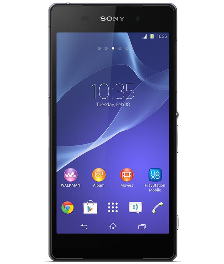 Sony Xperia Z2 Preto - 16GB - Android 4.4.4 KitKat - 2.3 GHz Quad Core - Tela 5.2 ´ - Câmera 21 MP - Desbloqueado - Recertificado