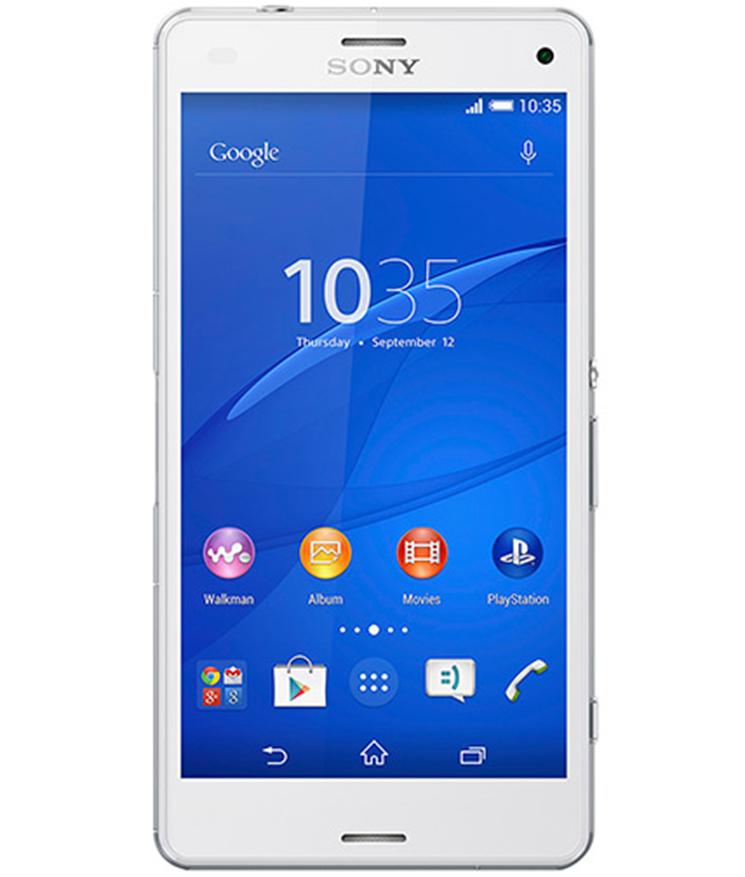 Sony Xperia Z3 Compact Branco - 16GB - Android 5.1.1 Lollipop - 2.5 GHz Quad Core - Tela 4,6 ´ - Câmera 20,7MP - Desbloqueado - Recertificado