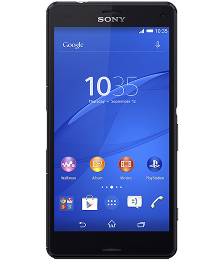 Sony Xperia Z3 Compact Preto - 16GB - Android 5.1.1 Lollipop - 2.5 GHz Quad Core - Tela 4,6 ´ - Câmera 20,7MP - Desbloqueado - Recertificado
