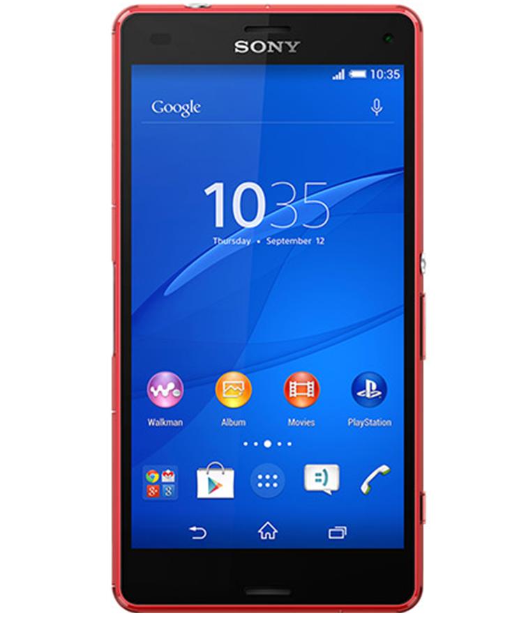 Sony Xperia Z3 Compact Vermelho - 16GB - Android 5.1.1 Lollipop - 2.5 GHz Quad Core - Tela 4,6 ´ - Câmera 20,7MP - Desbloqueado - Recertificado